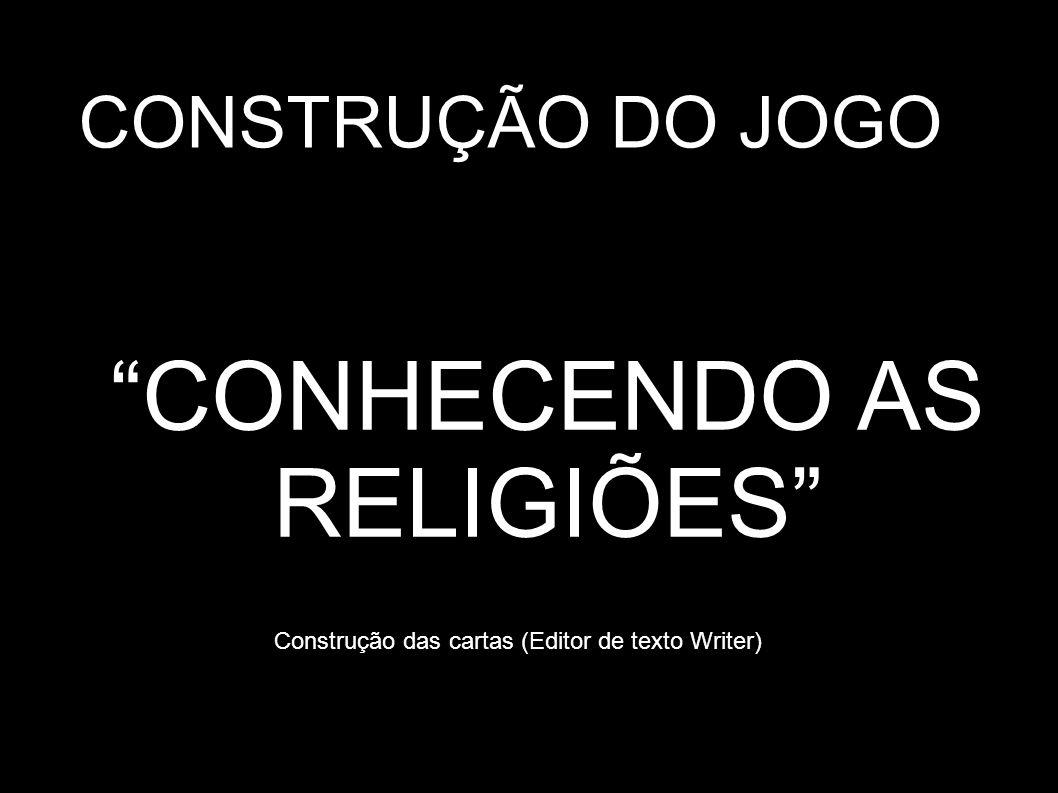 CONHECENDO AS RELIGIÕES