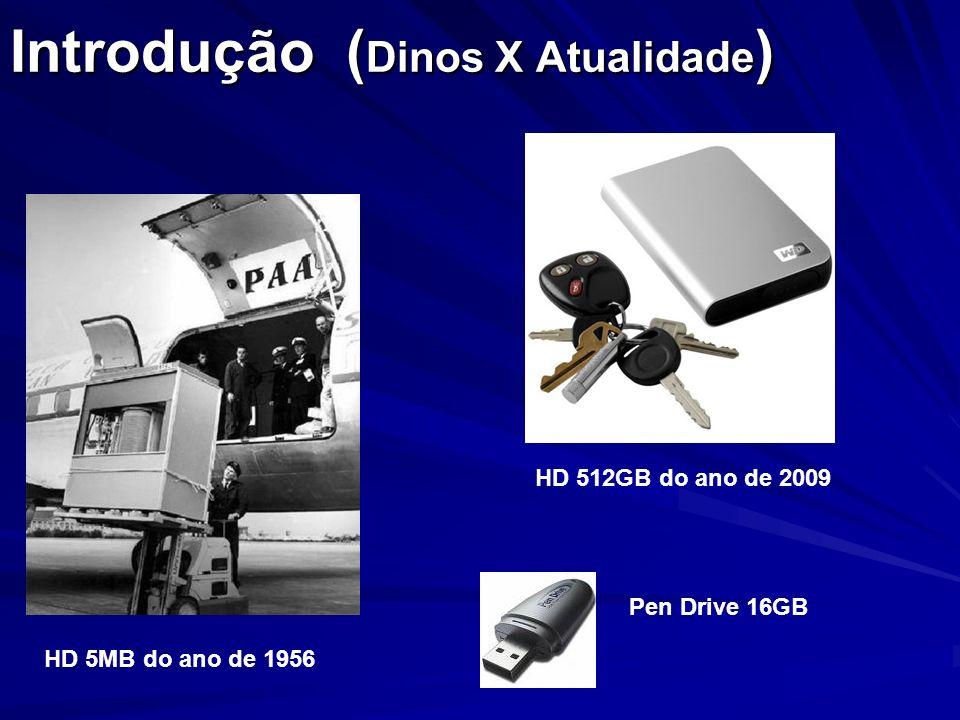 Introdução (Dinos X Atualidade)