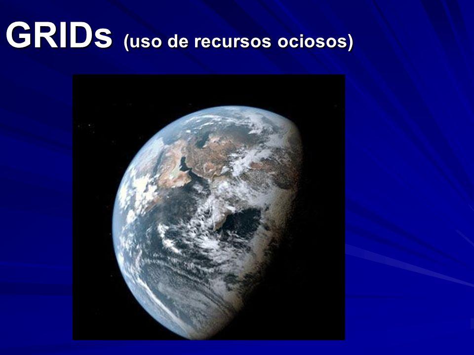 GRIDs (uso de recursos ociosos)