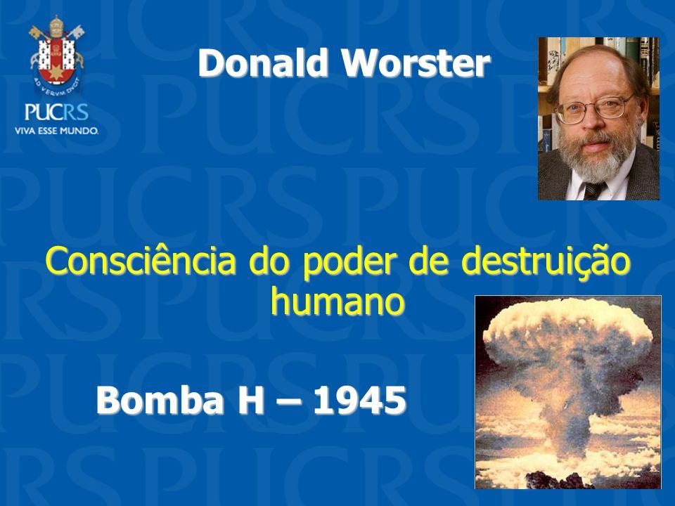 Consciência do poder de destruição humano