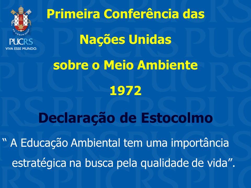 Primeira Conferência das Declaração de Estocolmo
