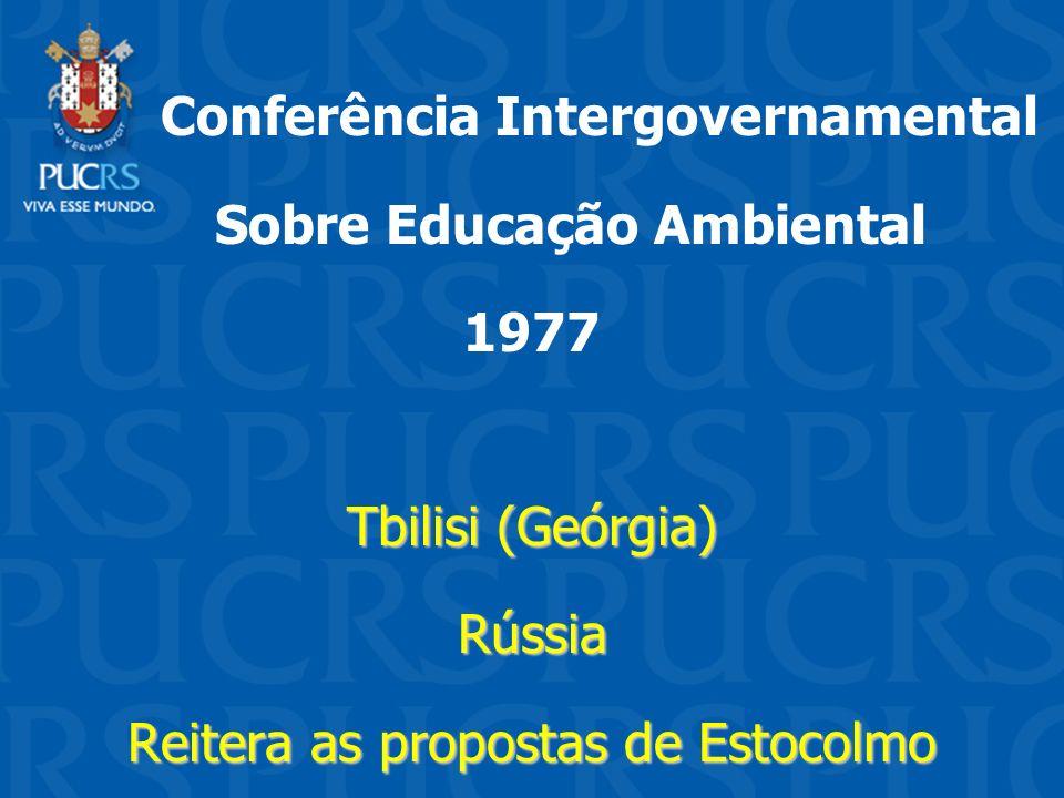 Conferência Intergovernamental Sobre Educação Ambiental