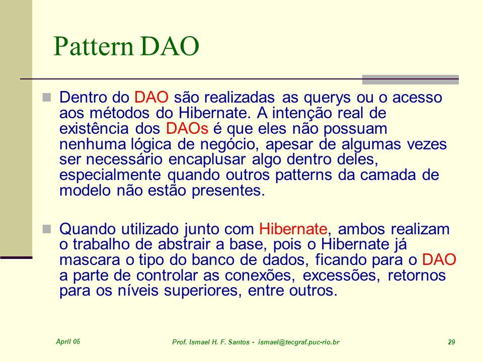 Pattern DAO