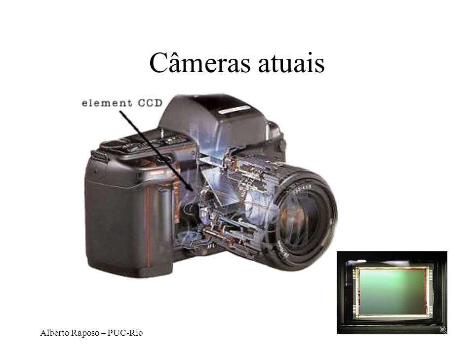 Câmeras atuais Alberto Raposo – PUC-Rio