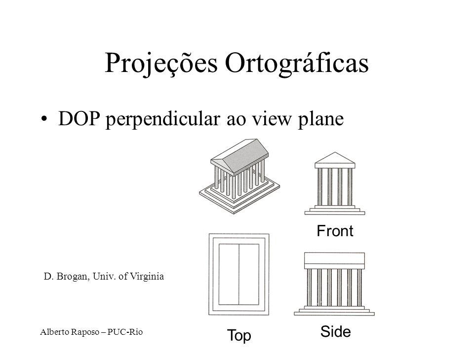 Projeções Ortográficas