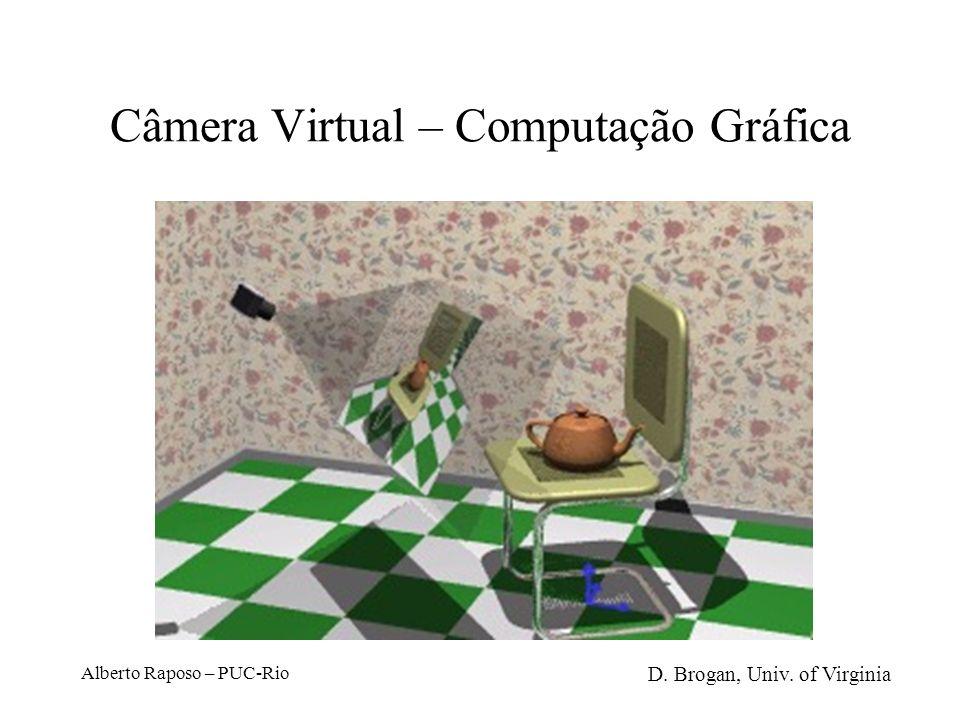 Câmera Virtual – Computação Gráfica