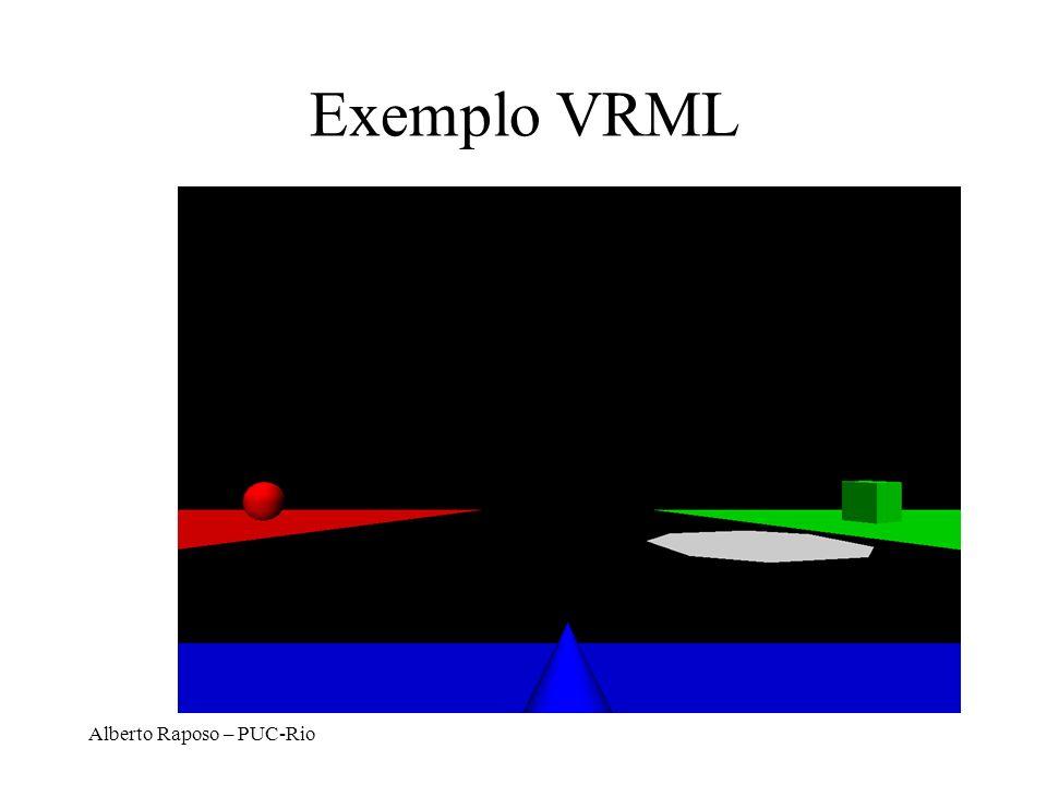 Exemplo VRML Alberto Raposo – PUC-Rio