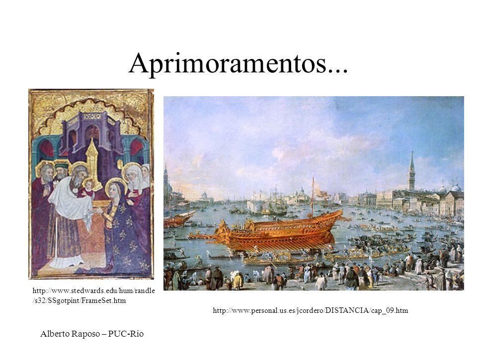 Aprimoramentos... Alberto Raposo – PUC-Rio