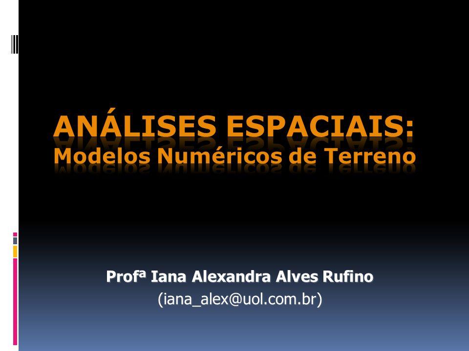 Análises espaciais: Modelos Numéricos de Terreno