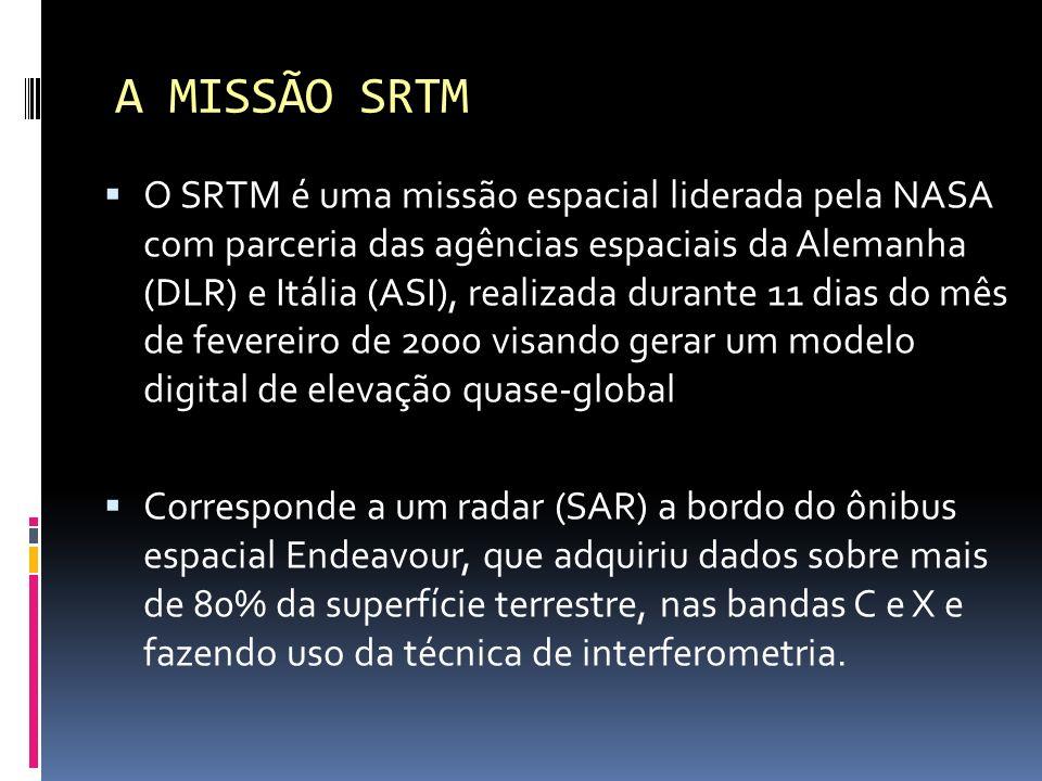 A MISSÃO SRTM