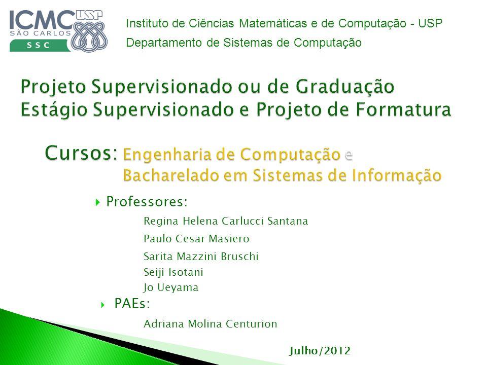 Instituto de Ciências Matemáticas e de Computação - USP