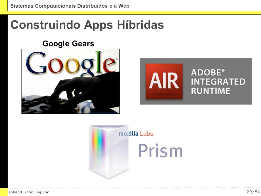 Construindo Apps Híbridas