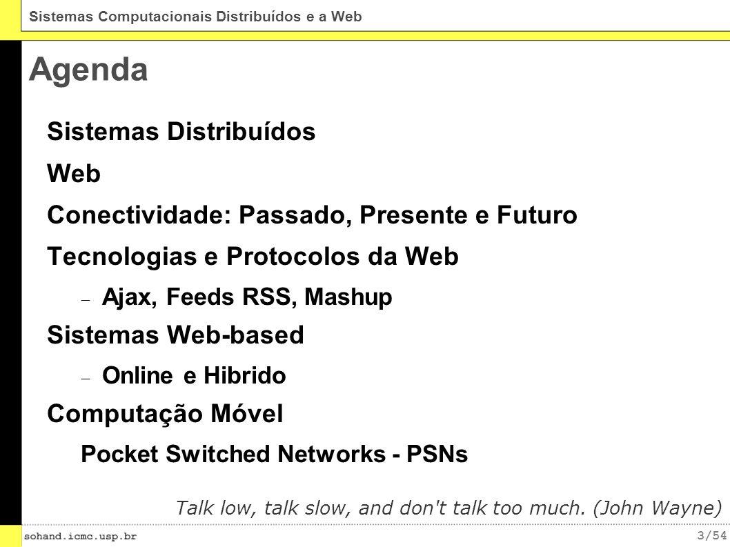 Agenda Sistemas Distribuídos Web