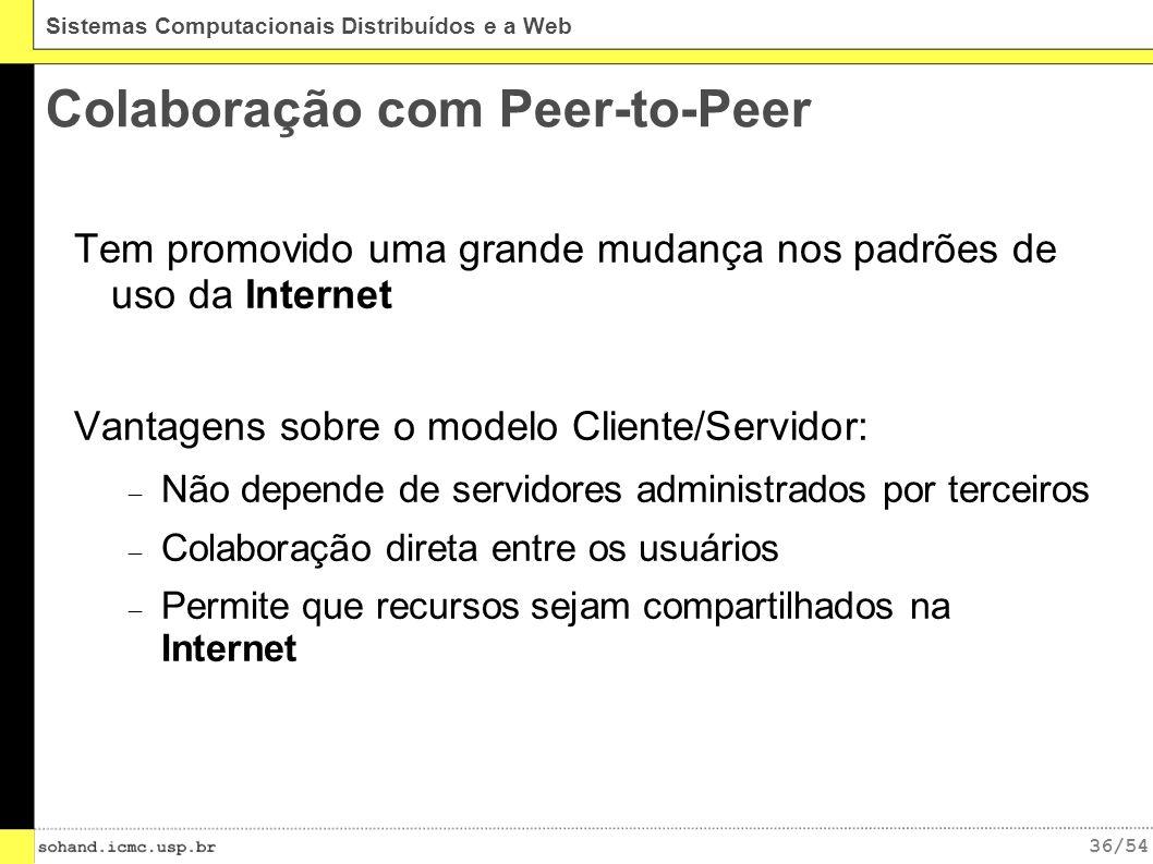 Colaboração com Peer-to-Peer