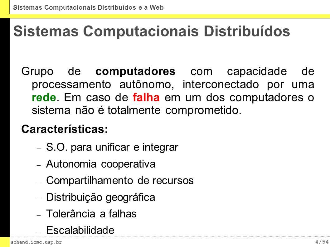 Sistemas Computacionais Distribuídos