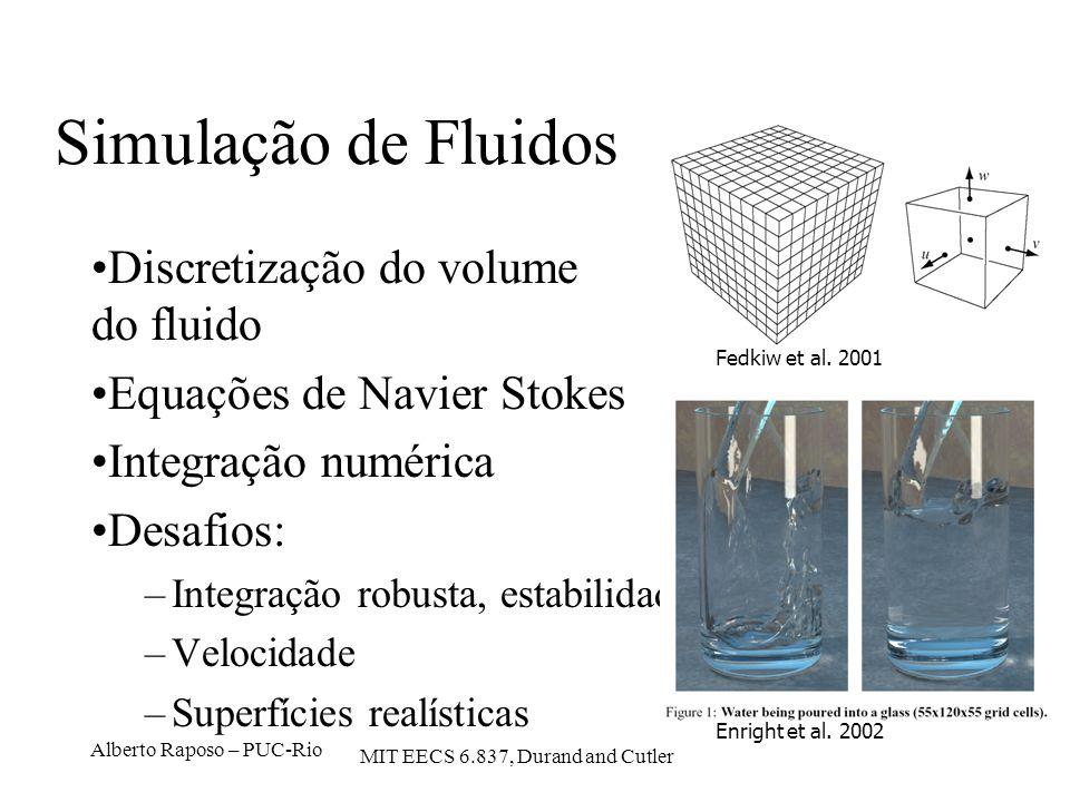 Simulação de Fluidos Discretização do volume do fluido