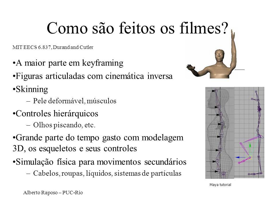 Como são feitos os filmes