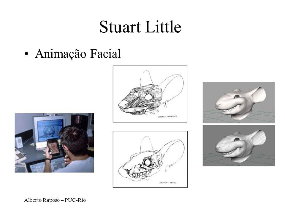 Stuart Little Animação Facial Alberto Raposo – PUC-Rio