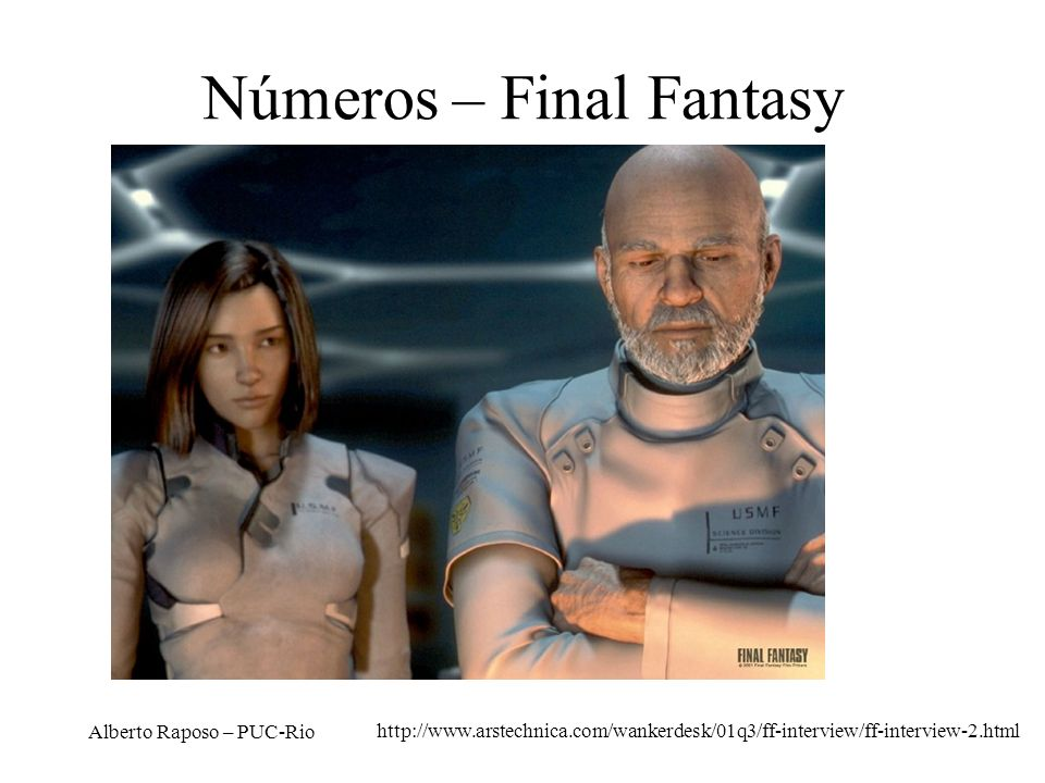 Números – Final Fantasy