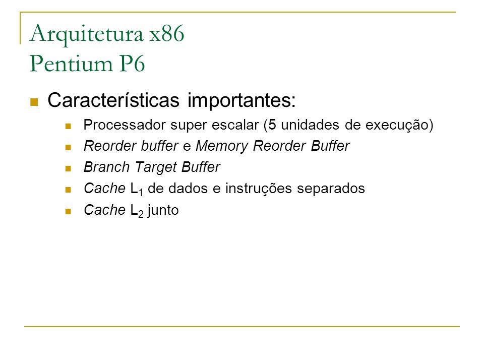 Arquitetura x86 Pentium P6