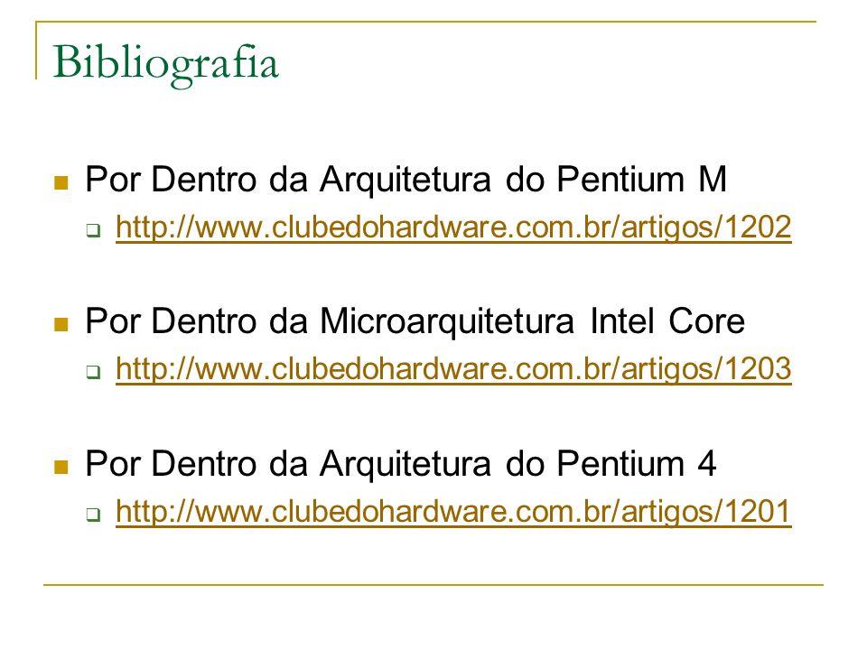Bibliografia Por Dentro da Arquitetura do Pentium M