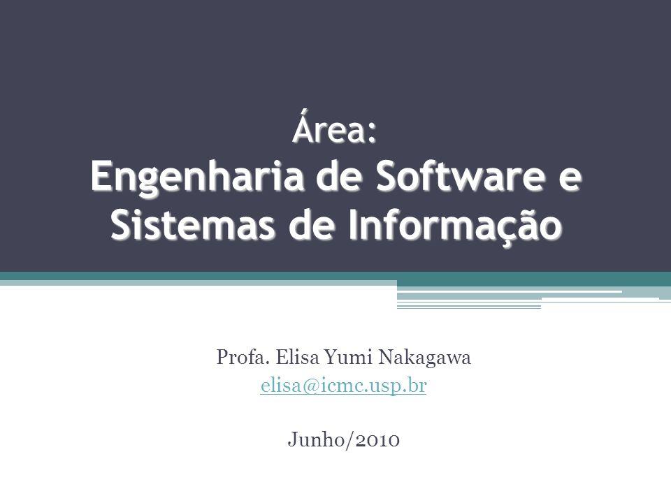 Área: Engenharia de Software e Sistemas de Informação