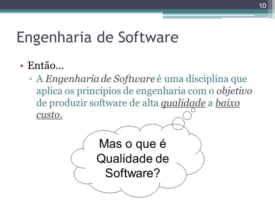 Engenharia de Software