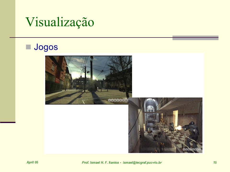 Visualização Jogos April 05