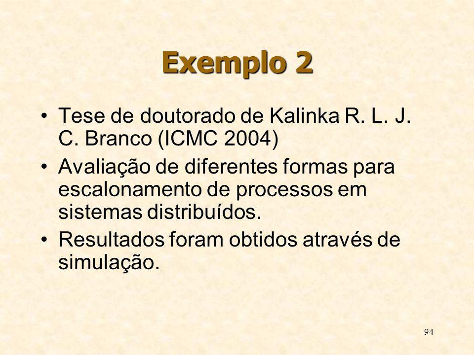 Exemplo 2 Tese de doutorado de Kalinka R. L. J. C. Branco (ICMC 2004)