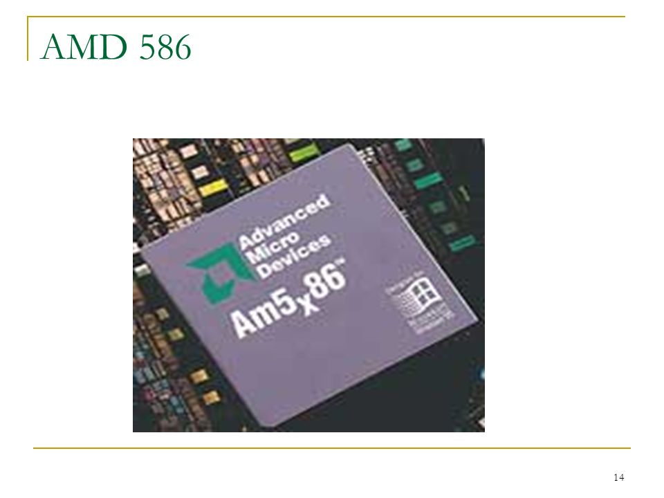 AMD 586