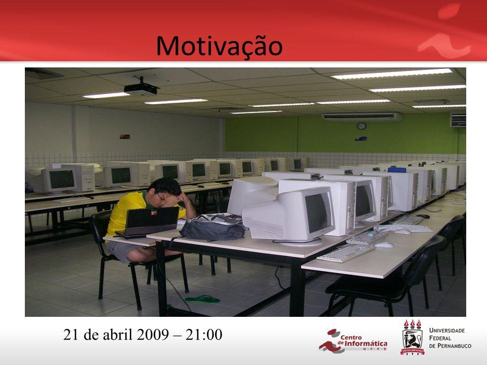 Motivação 21 de abril 2009 – 21:00