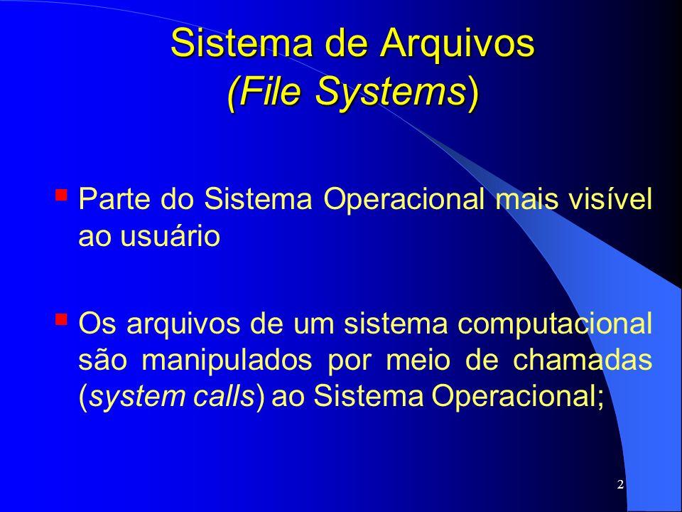 Sistema de Arquivos (File Systems)