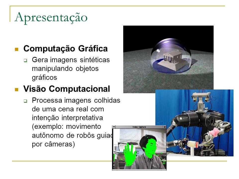 Apresentação Computação Gráfica Visão Computacional