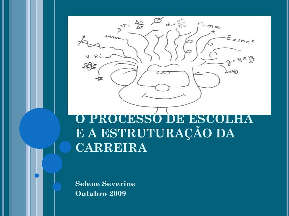 O PROCESSO DE ESCOLHA E A ESTRUTURAÇÃO DA CARREIRA