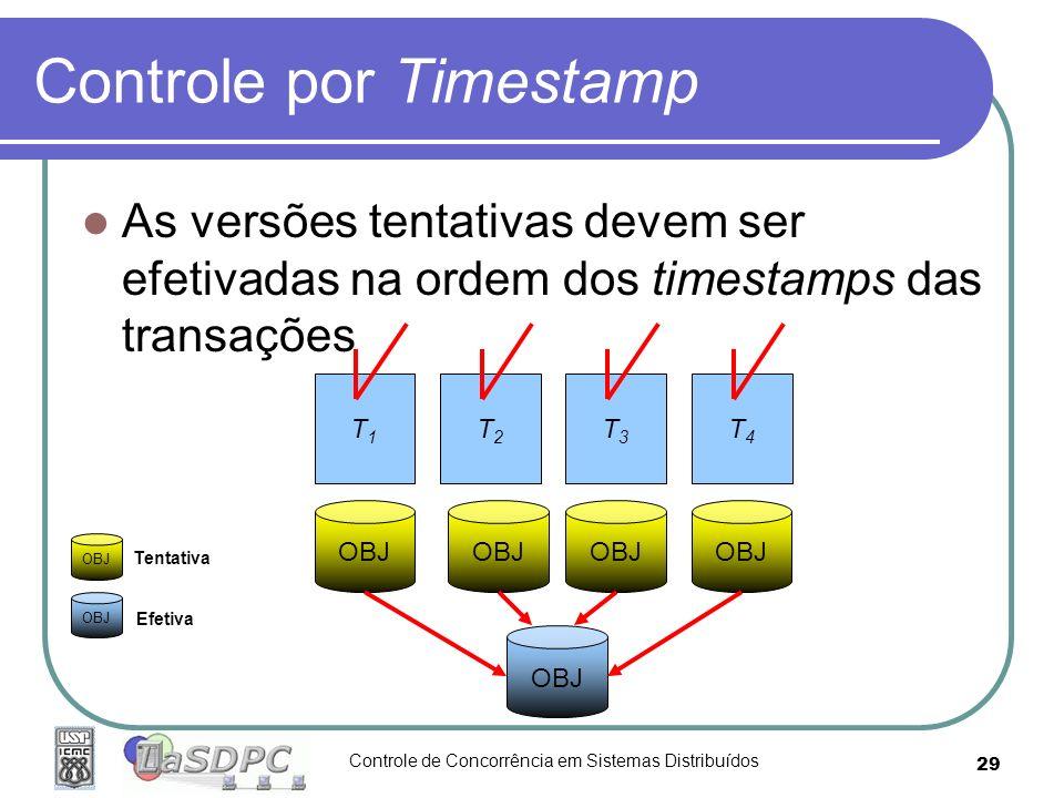 Controle por Timestamp