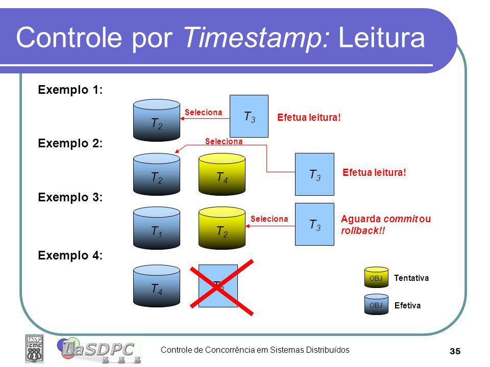 Controle por Timestamp: Leitura