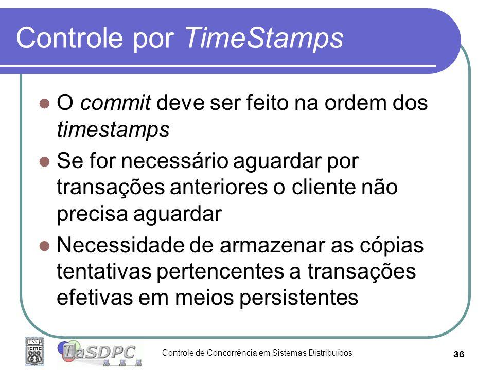 Controle por TimeStamps