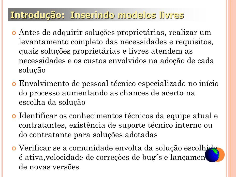Introdução: Inserindo modelos livres