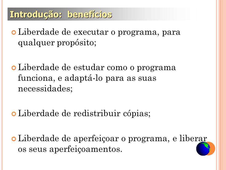 Introdução: benefícios