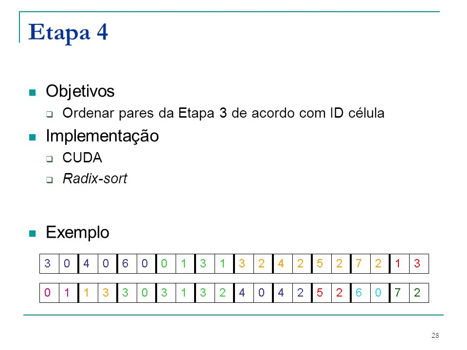 Etapa 4 Objetivos Implementação Exemplo