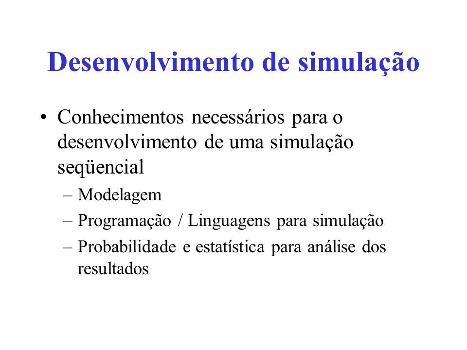 Desenvolvimento de simulação