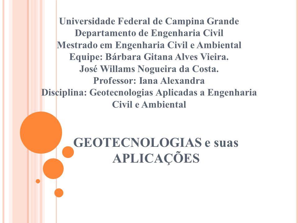GEOTECNOLOGIAS e suas APLICAÇÕES