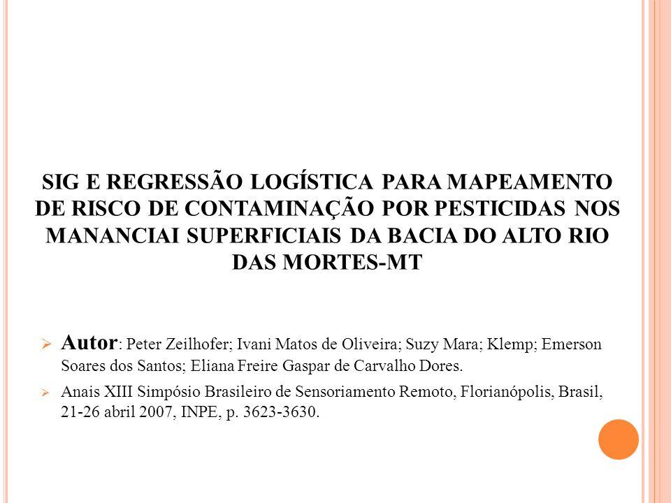 Autor: Peter Zeilhofer; Ivani Matos de Oliveira; Suzy Mara; Klemp; Emerson Soares dos Santos; Eliana Freire Gaspar de Carvalho Dores.