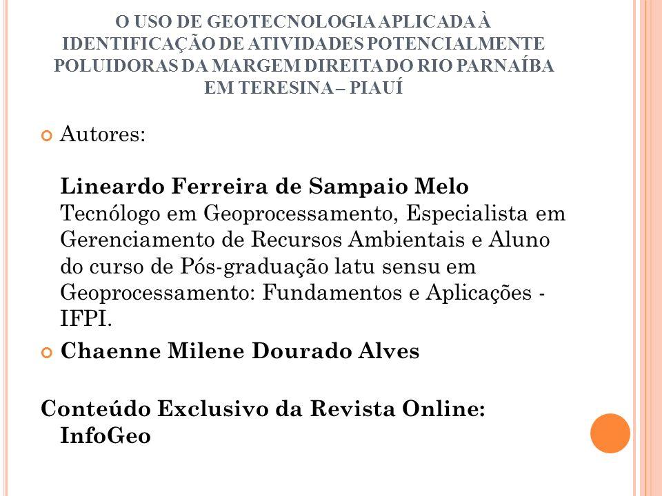 Chaenne Milene Dourado Alves
