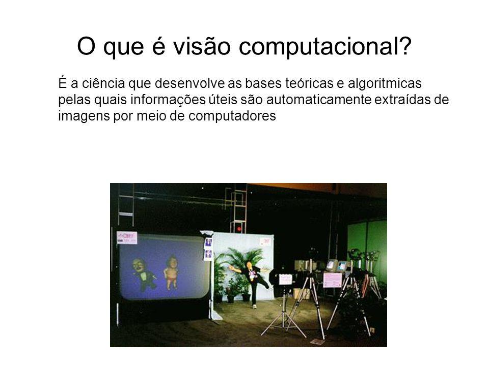 O que é visão computacional