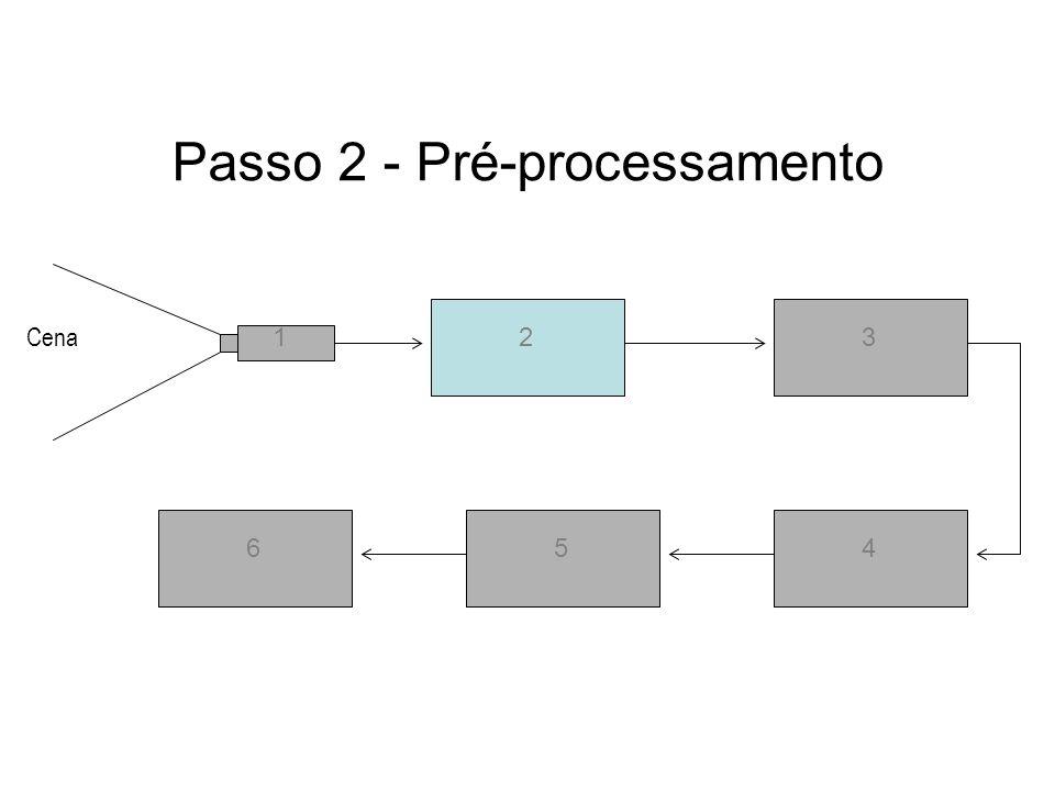 Passo 2 - Pré-processamento