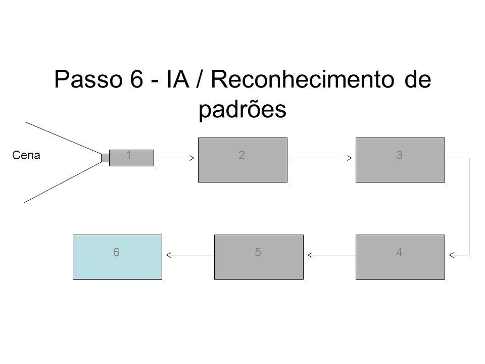 Passo 6 - IA / Reconhecimento de padrões