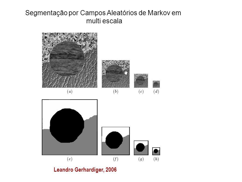 Segmentação por Campos Aleatórios de Markov em