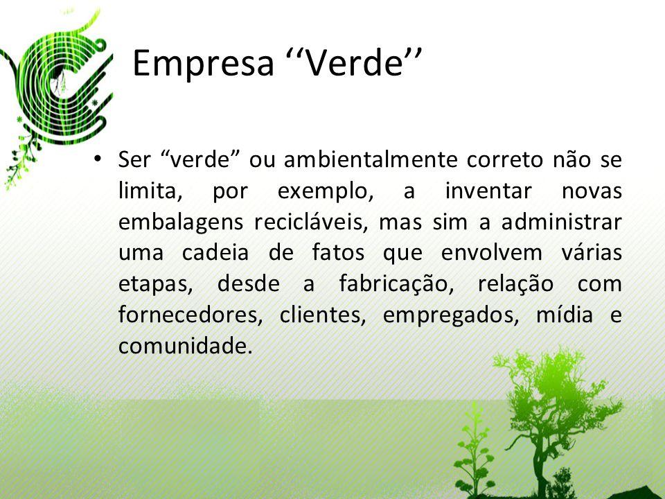Empresa ''Verde''