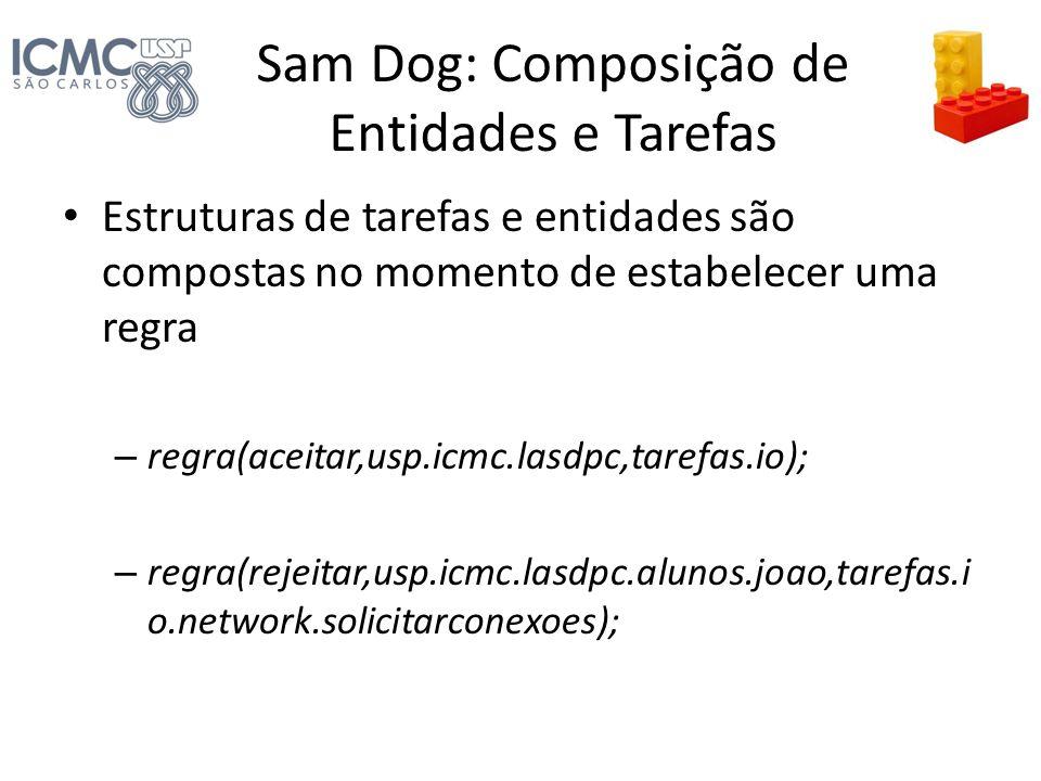 Sam Dog: Composição de Entidades e Tarefas